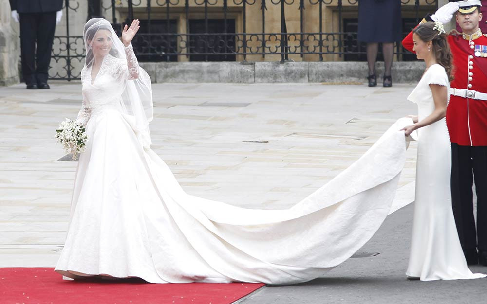 Kate Middleton Bride | Royal Wedding | Celebrities Wedding Shoes | So Into You Shoes