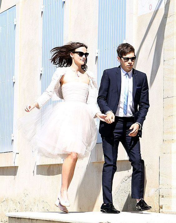 Kiera Knightley Wedding | Celebrities Wedding Shoes | So Into You Shoes