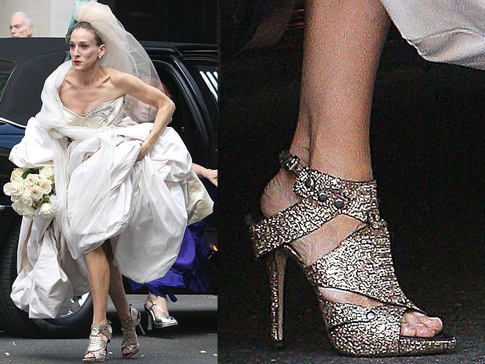Carrie Bradshaw Shoes | Sex And The City | So Into You Shoes