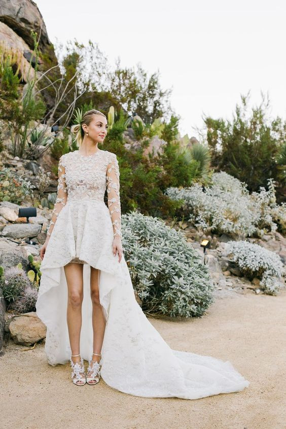 Whitney Port Bridal Look | Celebrities Wedding Shoes | So Into You Shoes