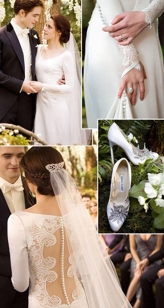 Twilight | Bella Swan Wedding | So Into You Shoes