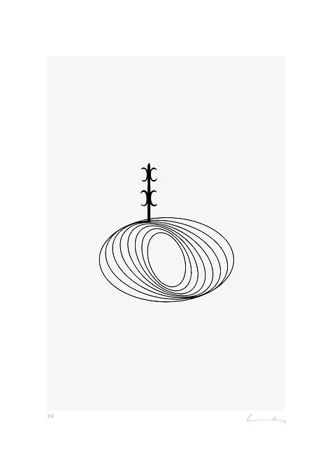 Pere Moles - Optical Black #3 - 2018