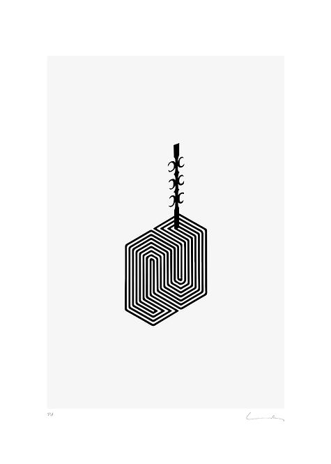 Pere Moles - Optical Black #2 - 2018
