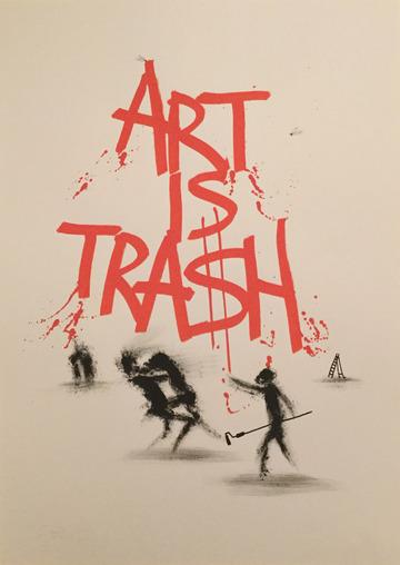Art is Trash - Lucha de Sombra - 2017