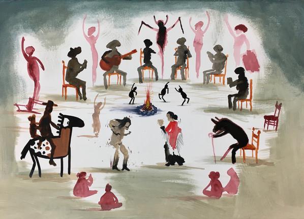 ART IS TRA$H - Flamenco