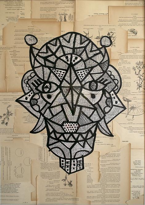 Lenny Mathé - Artefact sacré #3 - 2018