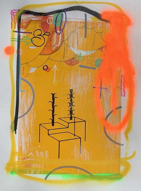 Leiga & Pere Moles - Yellow Serie #4 - 2019