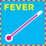 High fever can be a symptom of lymphoma