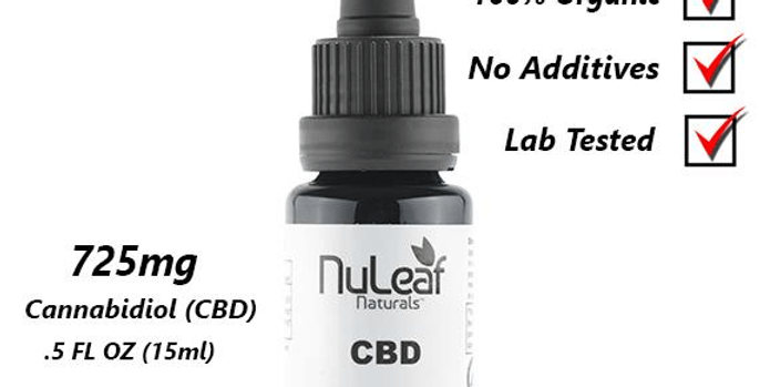 NuLeaf CBD Oil - 725mg