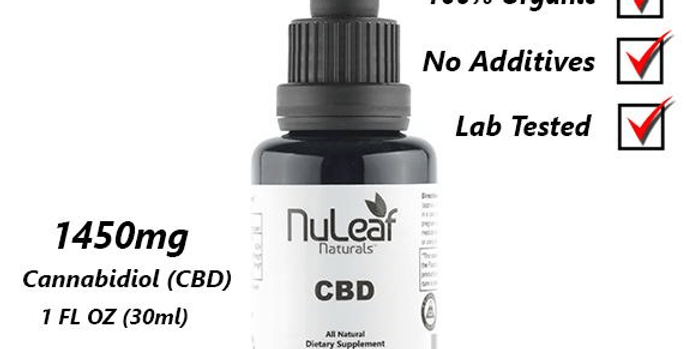 NuLeaf CBD Oil - 1450mg