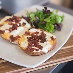Mozzarella Bacon Toast