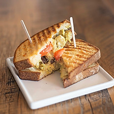 Turmeric Chicken Sandwich