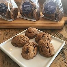 Vegan Chocolate Chip Cookie (5 per bag)