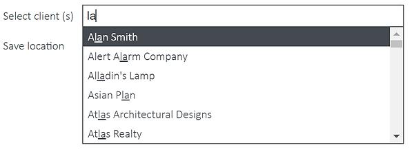 templates-createadocument-searchforclien