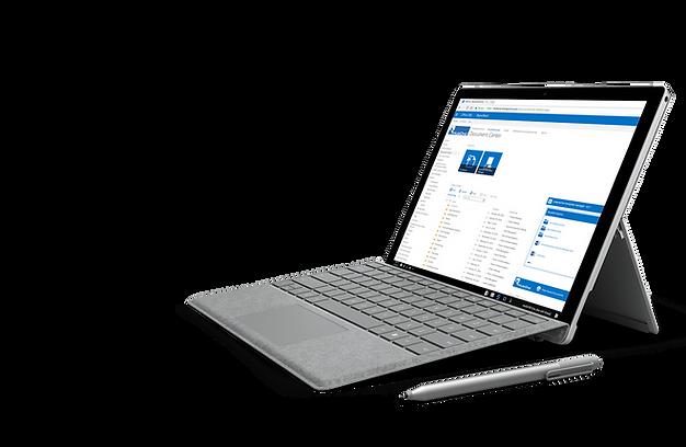 Document management on laptop
