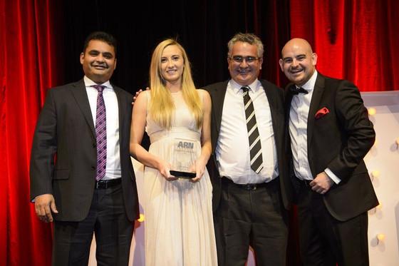 HubOne celebrates ARN ICT Industry award