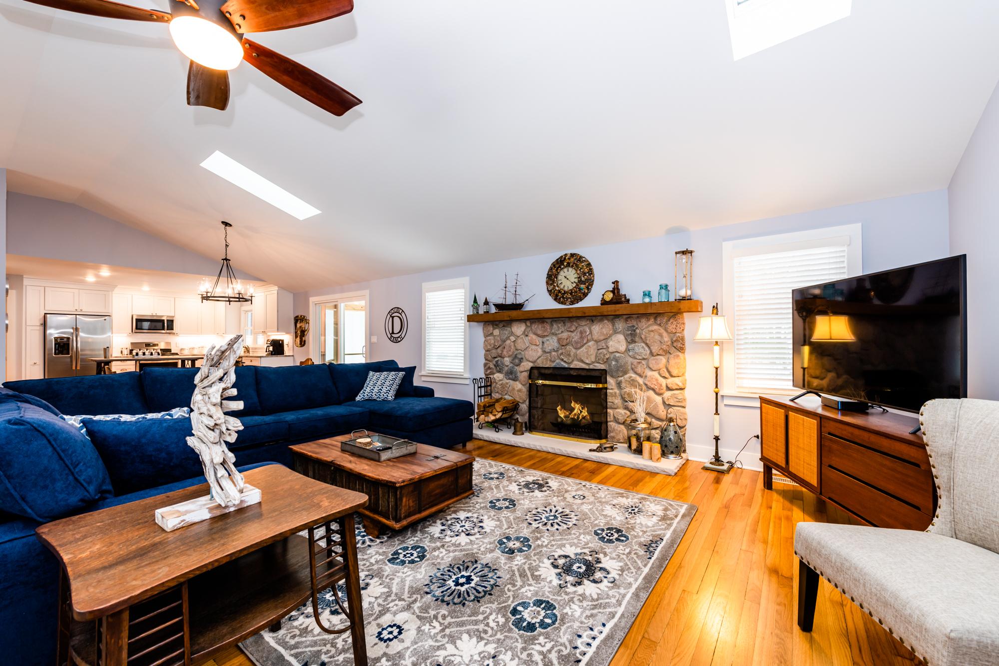 Living Room - New Buffalo Vacation Rental