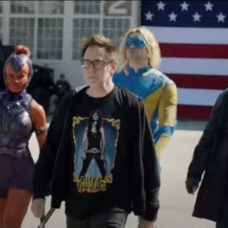DC FanDome | Diretor de Esquadrão Suicida mostra fotos de primeira reunião com elenco