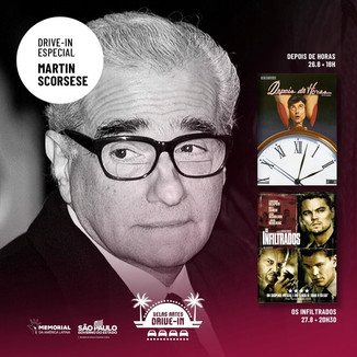 Martin Scorsese entra no Belas Artes Drive-In e muito mais