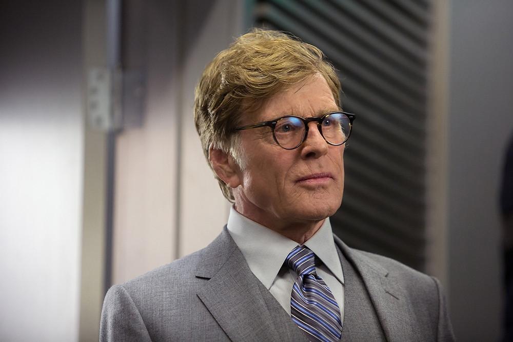 Robert Redford como Alexander Pierce em Capitão America 2: O soldado Invernal