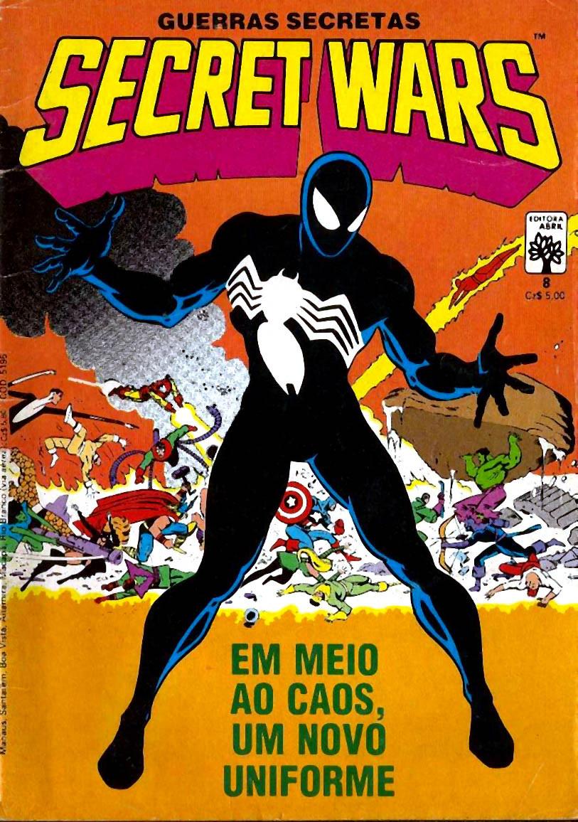 Primeira aparição do uniforme preto nos quadrinhos