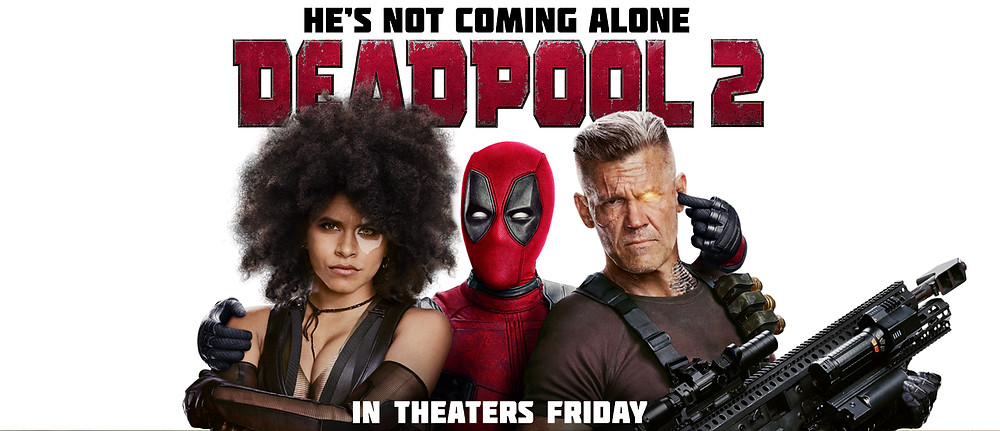 Deadpool 2 provou-se um acerto da Fox depois de inúmeros fracassos no cinema de heróis. (Imagem: 21th Century Fox/Divulgação)