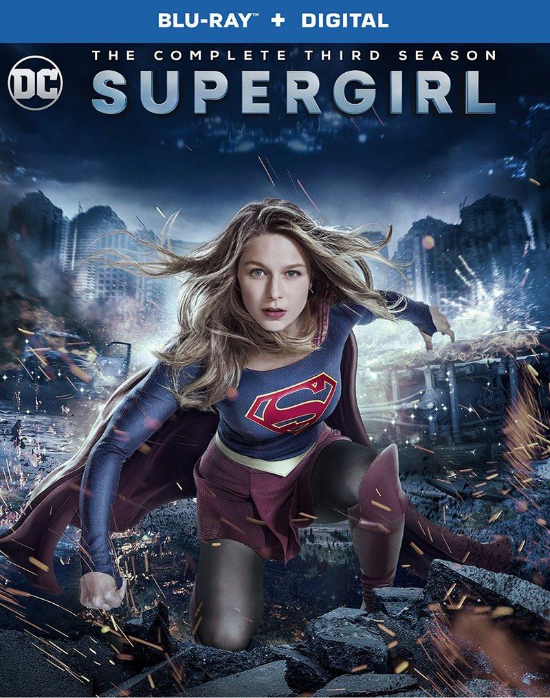 A capa do blue-ray e dvd da terceira temporada de Supergirl foi revelada. (Imagem: The CW/Warner Bros/Divulgação)