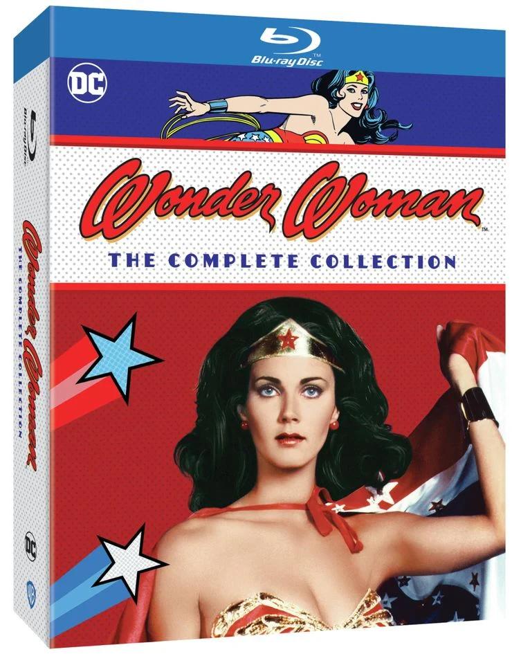 A coleção completa da série de TV Mulher-Maravilha dos anos 70, estrelada por Lynda Carter, chega em Blu-ray em menos de duas semanas nos Estados Unidos (Foto: Reprodução)