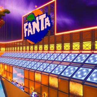 Fortnite recebe mapa personalizado pela Fanta