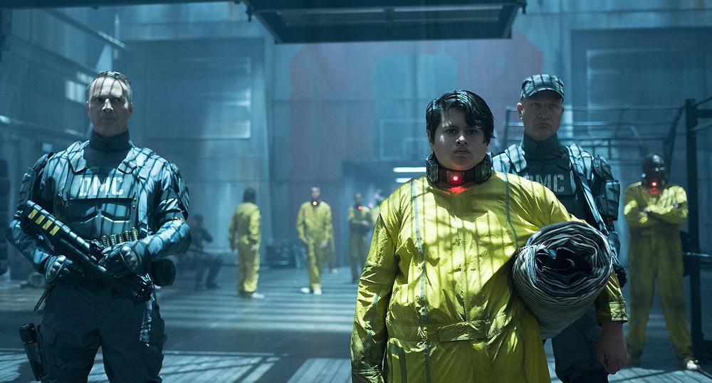 O mutante Firefist é Rusty Collins (Julian Dennison), que possui o poder de atirar fogo pelos braços e mãos. (Imagem: 21th Century Fox/Divulgação)