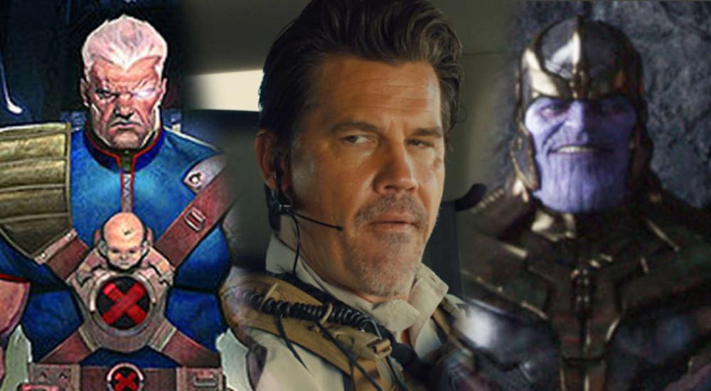Josh Brolin será o responsável por interpretar Thanos, o Titã Louco, e Cable, o mutante do futuro. (Imagem: Comic Book/Divulgação)