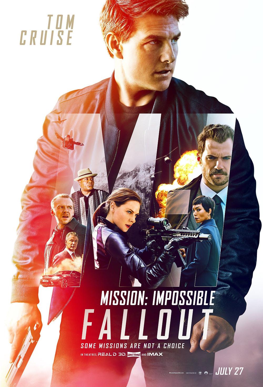 """""""Missão Impossível: Efeito Fallout"""" é o novo filme da franquia estrelada por Tom Cruise. (Imagem: Paramount Pictures/Divulgação)"""
