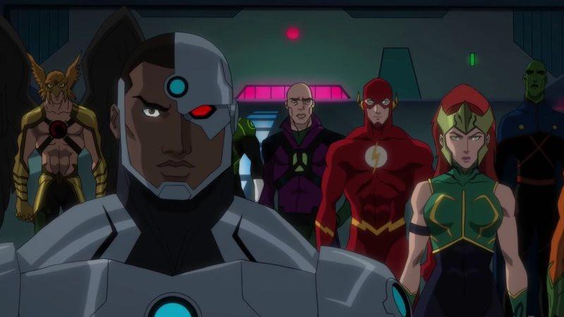 Heróis e vilões unidos na batalha contra Darkseid (Imagem: Warner Bros. / Divulgação)
