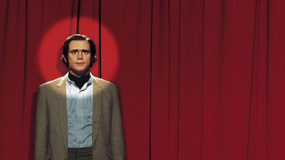 Jim Carrey como Andy Kaufman no longa dirigido por Foman