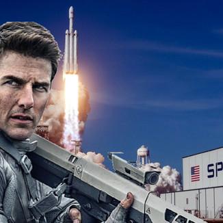 Universal pode estar produzindo o filme de Tom Cruise no espaço