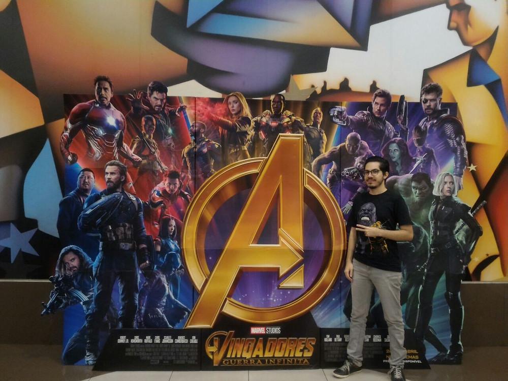 Nosso repórter Lucas Venancio também esteve no Cinemark do Shopping Internacional, em Guarulhos. (Imagem: Be Geeks / Divulgação)