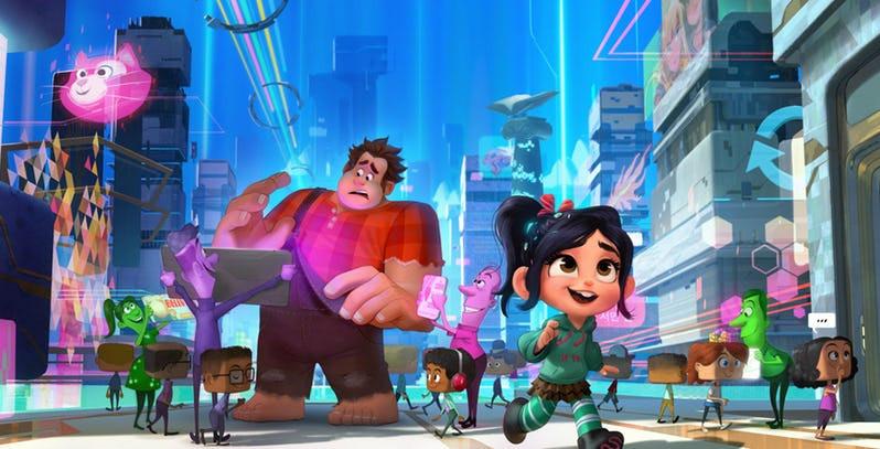 Após o sucesso do primeiro filme, a Disney prontamente encaminhou a sequência Detona Ralph 2. (Imagem: Disney/Reprodução)