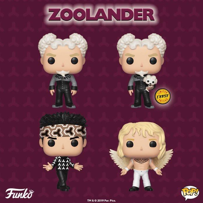 Um dos filmes de maior sucesso do ator Ben Stiller, Zoolander agora ganhará uma linha de bonecos Funko Pop. (Imagem: Funko / Reprodução)