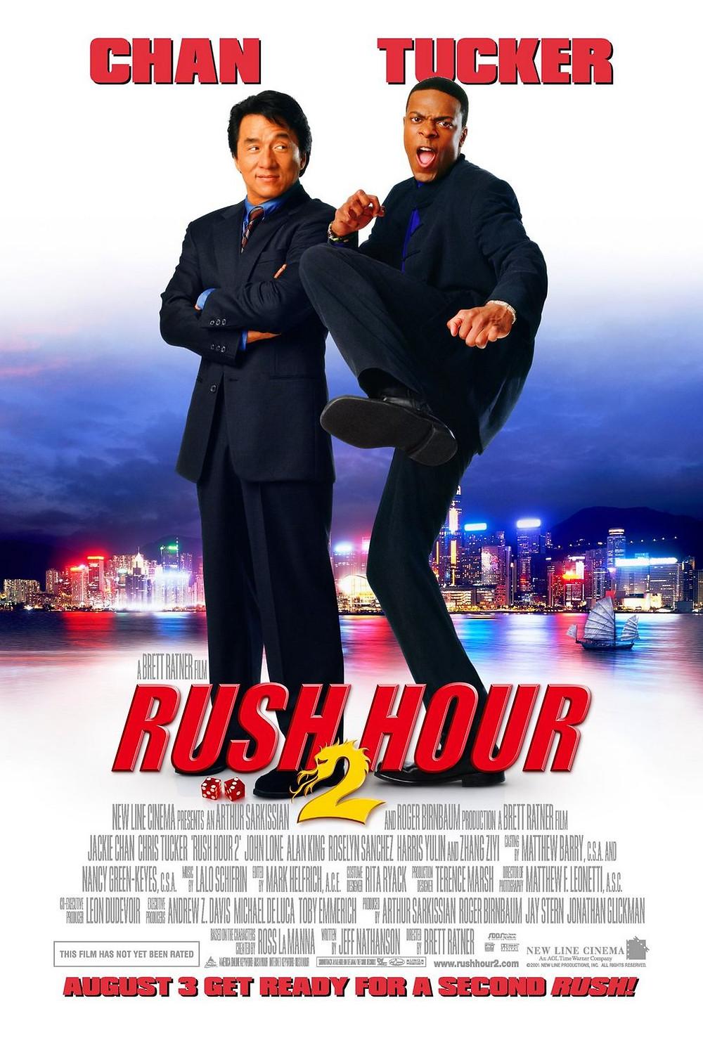 Pôster de A Hora do Rush 2
