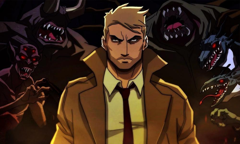 Constantine: Cidade dos Demônios é o 11º filme do universo de desenhos animados da DC (Imagem: DC/Warner/Reprodução)