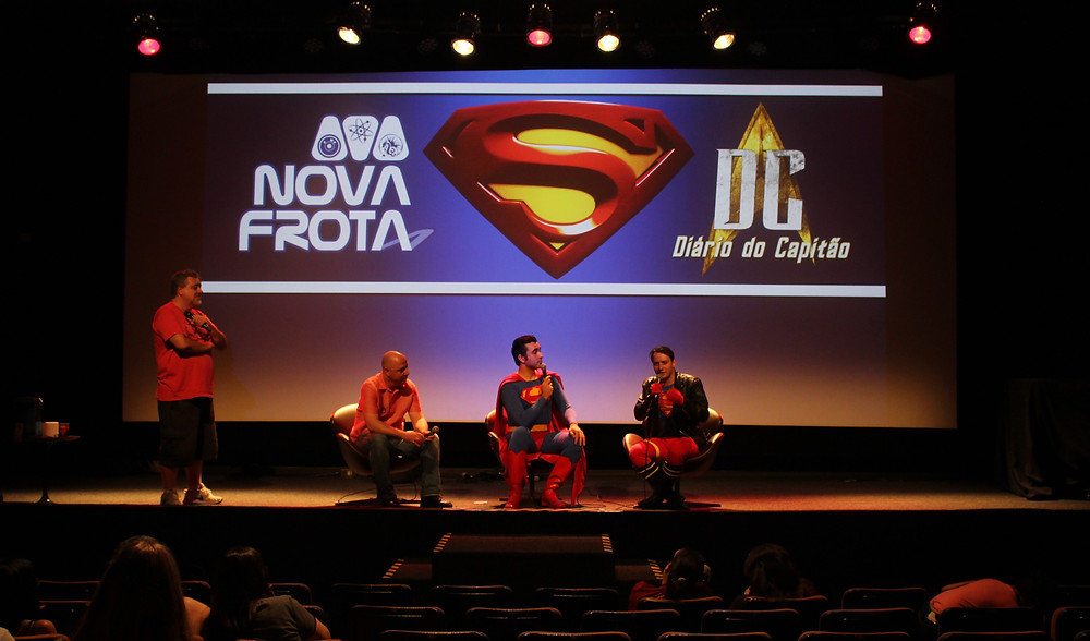 Maratona Superman   Um bate-papo com especialistas sobre o herói