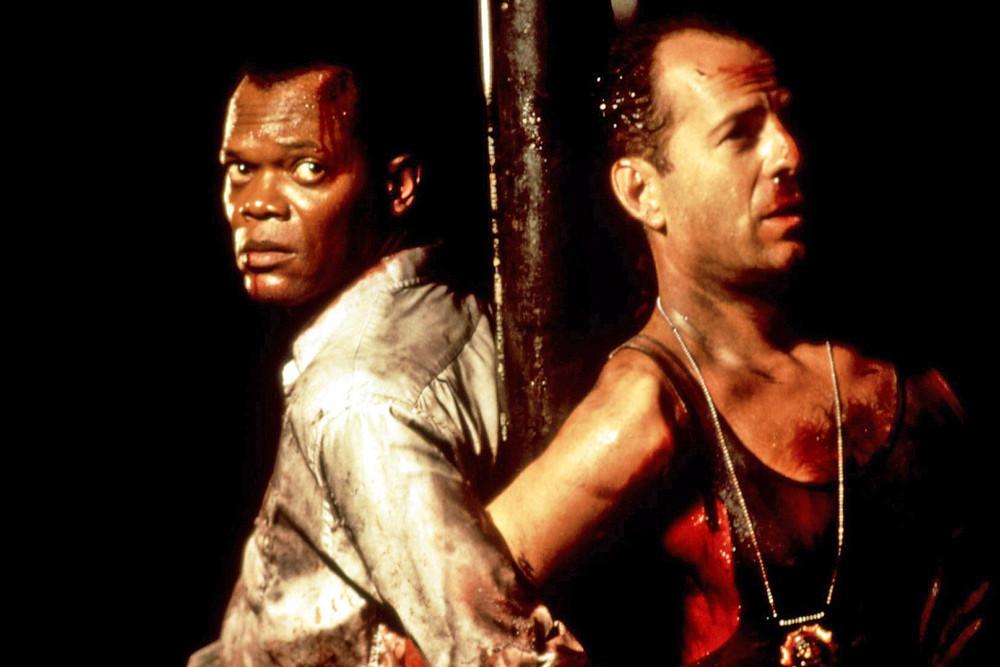 Samuel L. Jackson e Bruce Willis formam uma dupla e tanto
