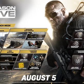 Season 5 de Call of Duty: MW/ Warzone chega nesta quarta; veja os detalhes