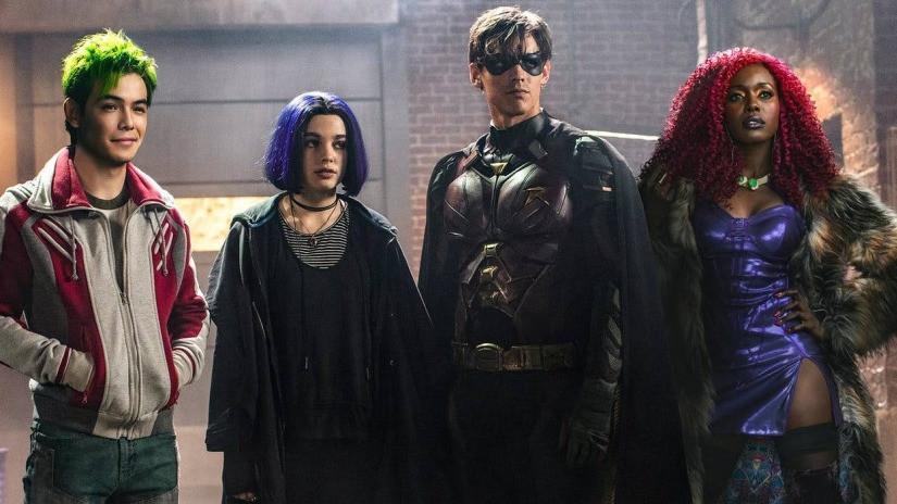 Separados eles carregam seus fardos, mas juntos eles são o time dos Titãs (Imagem: DC Universe/Divulgação)