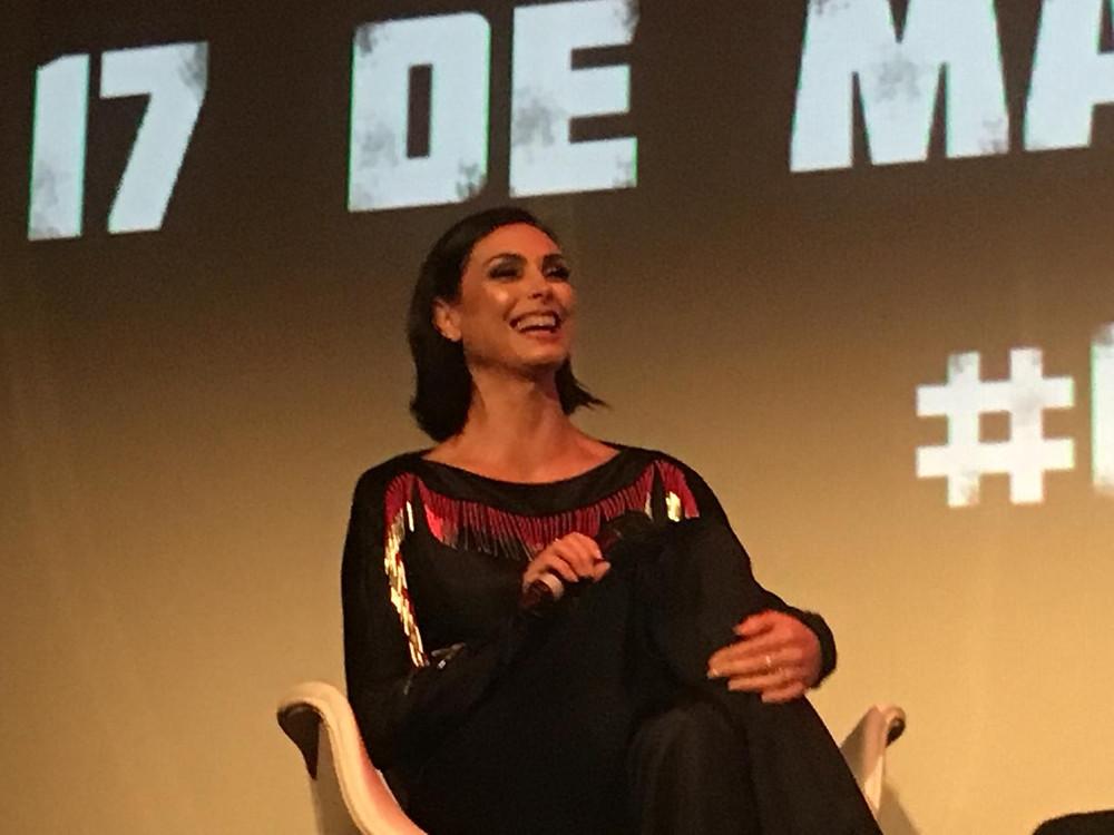 Apesar de ter nascido no Brasil, a atriz Morena Baccarin mora nos Estados Unidos desde os 6 anos de idade. (Imagem: Rebeca Wagner)