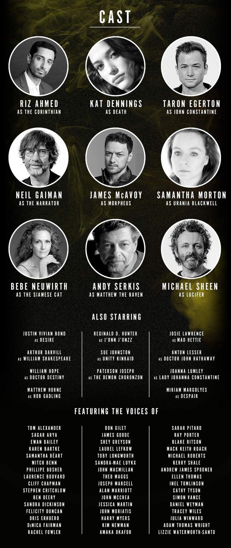 Neil Gaiman revelou o elenco de dublagem e a data de lançamento da adaptação em audiobook de Sandman, da Vertigo (Foto: Neil Gaiman / Reprodução)