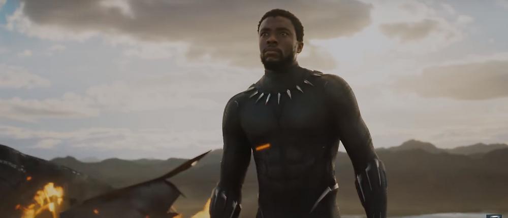 Chadwick Boseman interpreta T'Challa, o Pantera Negra (Imagem: Marvel/Divulgação)