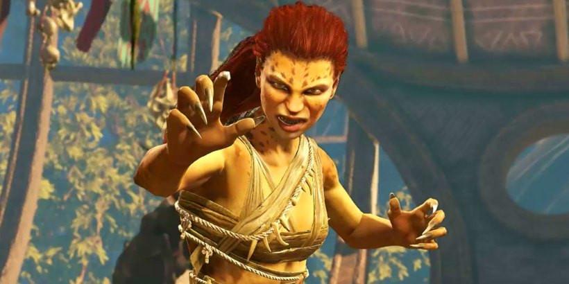 Personagem da Mulher-Leopardo no jogo Injustice - Imagem: DC/Injustice/Reprodução