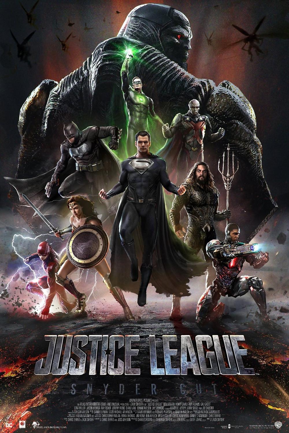 Kevin Smith esclarece o que sabe sobre o corte de Snyder da Liga da Justiça: Darkseid, lanternas verdes e muito mais (Imagem: Bosslogic / Instagram)