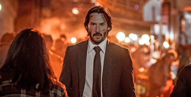 John Wick (Keanu Reeves) estará de volta para seu terceiro filme. (Imagem: Lionsgate/Divulgação)